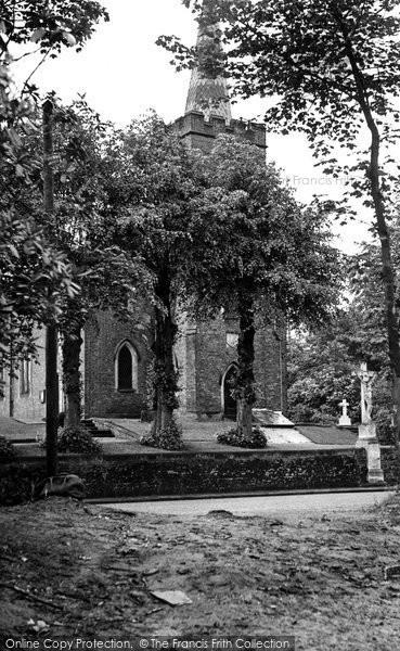 Photo of Chelford, Church Of St John The Evangelist c.1955