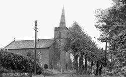 Chelford, Church Of St John The Evangelist c.1955