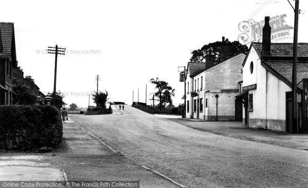 Photo of Chelford, Macclesfield Road c.1955