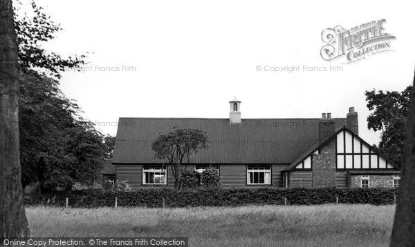 Photo of Chelford, Parish Room c.1955