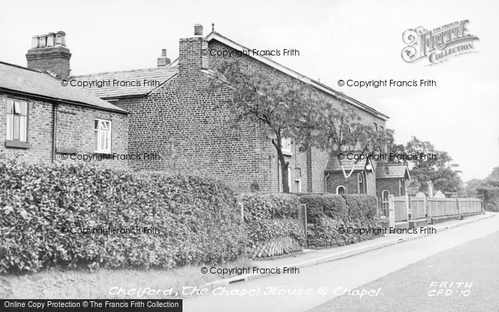 Photo of Chelford, The Chapel House And Chapel c.1955