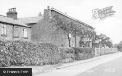 Chelford, The Chapel House And Chapel c.1955