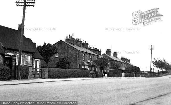 Photo of Chelford, The Village c.1955