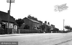 Chelford, The Village c.1955