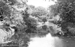 Chelmsford, Can River, Central Park c.1955