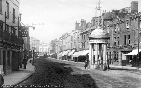 Chelmsford, High Street 1892, Essex.  (Neg. 31508)  © Copyright The Francis Frith Collection 2005. http://www.francisfrith.com