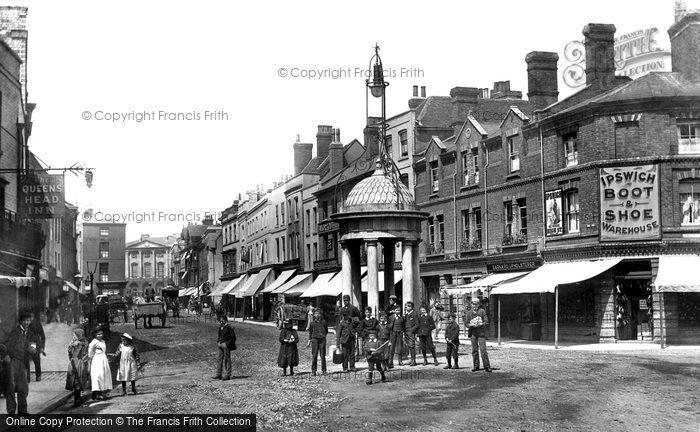 Chelmsford, High Street 1895