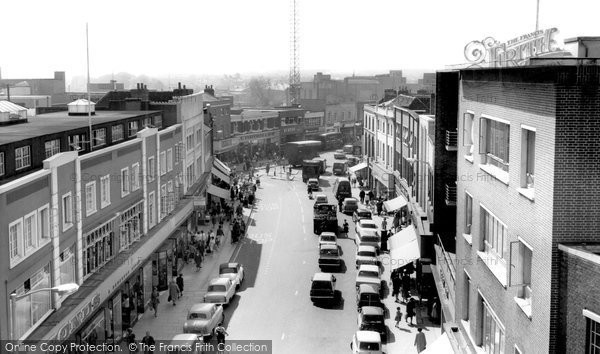 Photo of Chelmsford, High Street 1969