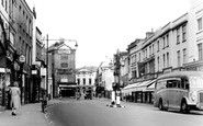 Chelmsford, High Street c1955