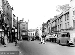 Chelmsford, High Street c.1955