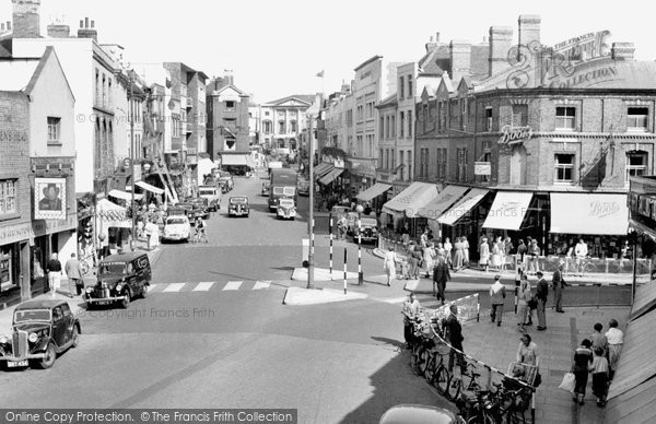 Photo of Chelmsford, High Street c1955, ref. c73044