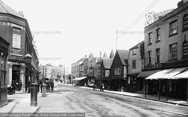 Photo of Chelmsford, Moulsham Street 1892