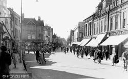 Chelmsford, Moulsham Street c.1950