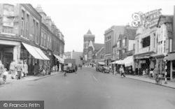 Chelmsford, Moulsham Street c.1955