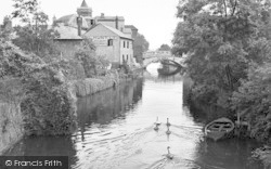Chelmsford, River Can c.1950