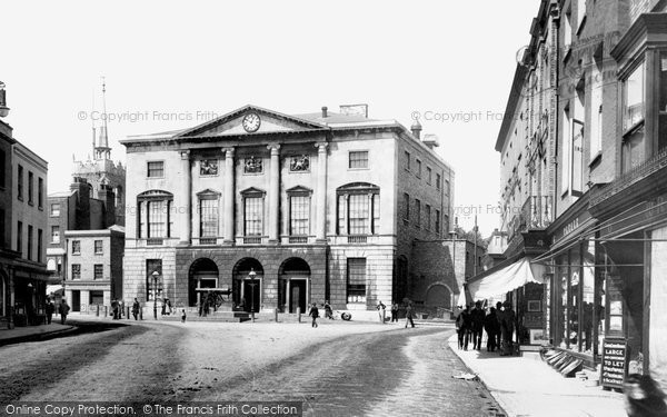 Photo of Chelmsford, Shire Hall 1895