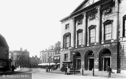 Chelmsford, Shire Hall And Tindal Square 1895