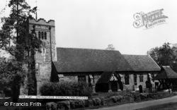 Chelmsford, Springfield Church c.1965