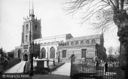 Chelmsford, St Mary's Church 1892