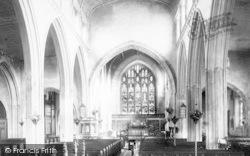 Chelmsford, St Mary's Church Interior 1892