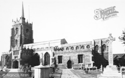 Chelmsford, The Cathedral c.1955