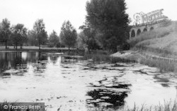 Chelmsford, The Lake, Recreation Ground c.1950