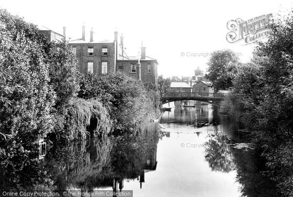 Photo of Chelmsford, The River Can 1906