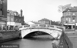 Chelmsford, The Stone Bridge c.1955