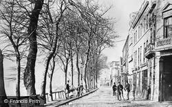 Chelsea, Cheyne Walk c.1865