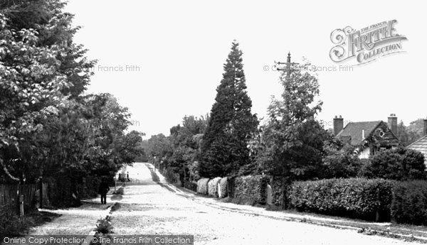 Chelsfield, Oxendenwood Road c1950