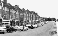 Chelsfield, the Shops c1965
