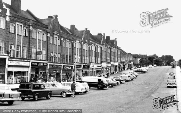 Chelsfield, the Shops c1960