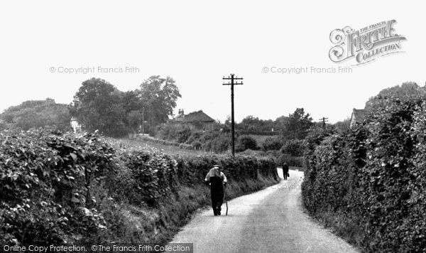 Chelsfield, Worlds End Lane c1950