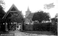 Chelsham, St Leonard's Church  And Lychgate 1904