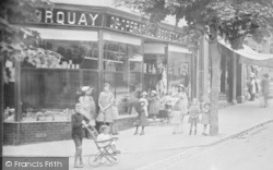 Co-Operative Shop, Old Mill Road 1920, Chelston
