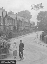 Couple At Sherwell Hill 1920, Chelston