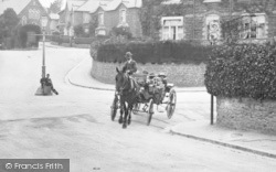 Horse Drawn Carriage, Innerbrook Road 1920, Chelston