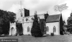 Chelsworth, All Saints' Church c.1960