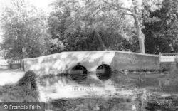 Chelsworth, The Bridge c.1960