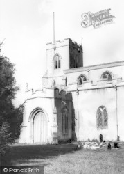 Chelsworth, The Church c.1960