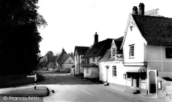 Chelsworth, The Peacock Inn c.1960