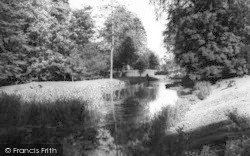 Chelsworth, The River c.1960
