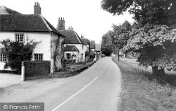 Chelsworth, The Street c.1960