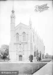 Cheltenham, College And Chapel 1907