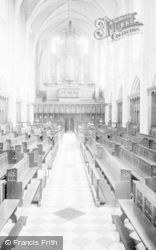 Cheltenham, College Chapel Interior 1906