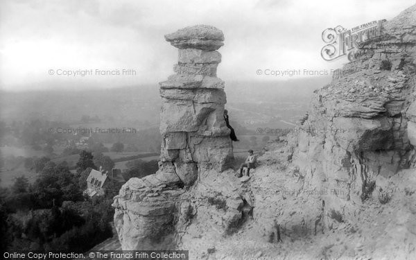Cheltenham, Devil's Chimney 1901