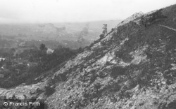 Cheltenham, Devil's Chimney And View 1901