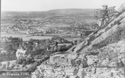 Cheltenham, From The Devil's Chimney c.1890