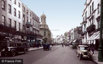 Cheltenham, High Street 1931