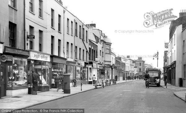 Photo of Cheltenham, Lower High Street c1955